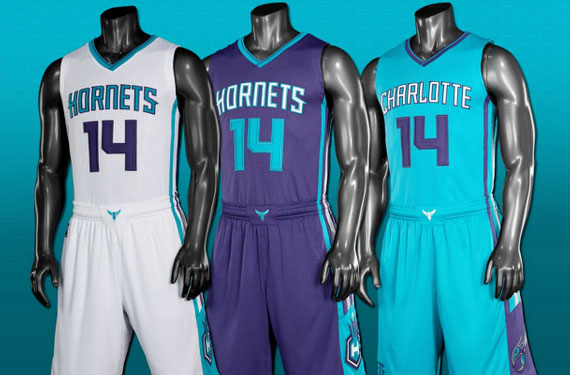 best sneakers a0746 7d961 Re-named Charlotte Hornets unveil new Uniforms | World of Sports