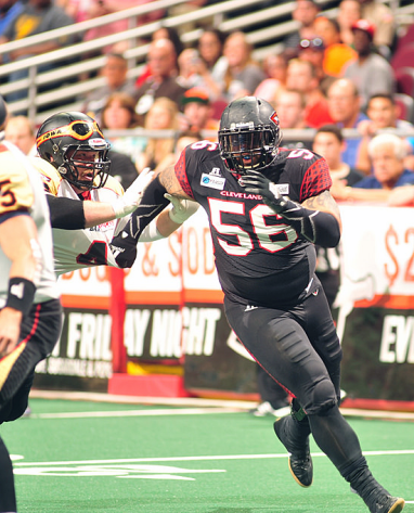 Willie McGinnis Cleveland Gladiators